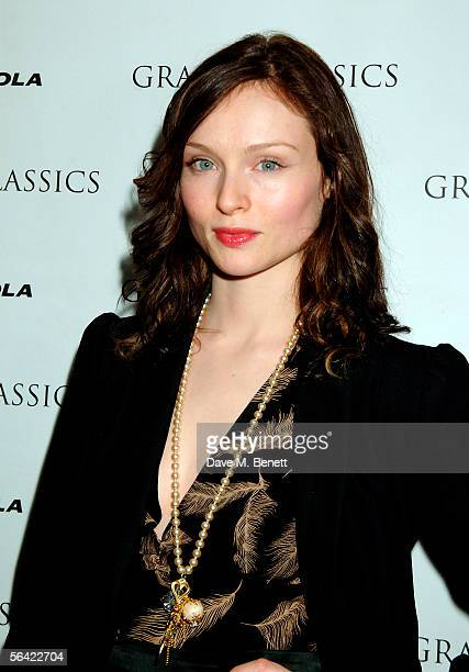 Singer Sophie Ellis Bextor attends the screening of Gwyneth Paltrow's favorite film 'Annie Hall' at The Electric Cinema on December 12 2005 in London...