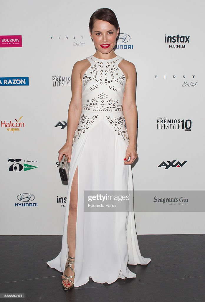 Singer Soraya Arnelas attends the 'Lifestyle awards' photocall at Barcelo theatre on June 8, 2016 in Madrid, Spain.