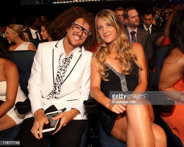 Singer Stefan 'Redfoo' Gordy and tennis player Victoria Azarenka attend The 2013 ESPY Awards at Nokia Theatre LA Live on July 17 2013 in Los Angeles...