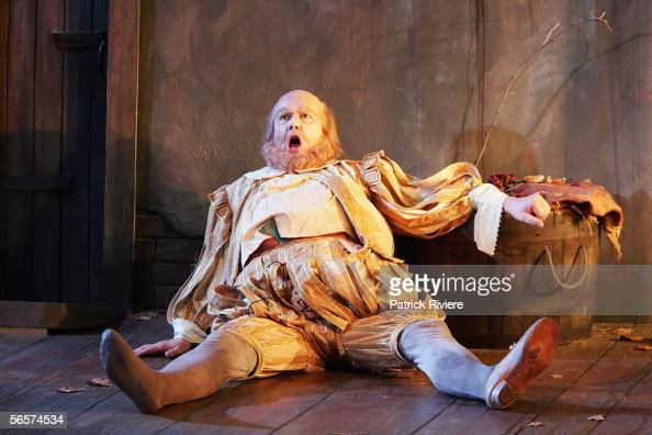 Singer Stephen Richardson performs during the dress rehearsal of Giusepe Verdi's Falstaff at the Sydney Opera House on January 12 2006 in Sydney...