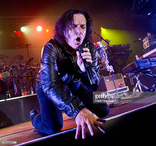 Singer Steve Hogarth of the Marillion performs live during a concert at the Huxleys on July 19 2016 in Berlin Germany
