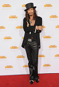 Singer Steven Tyler arrives at NBC And Time Inc Celebrate 50th Anniversary Of Sports Illustrated Swimsuit Issue at Dolby Theatre on January 14 2014...