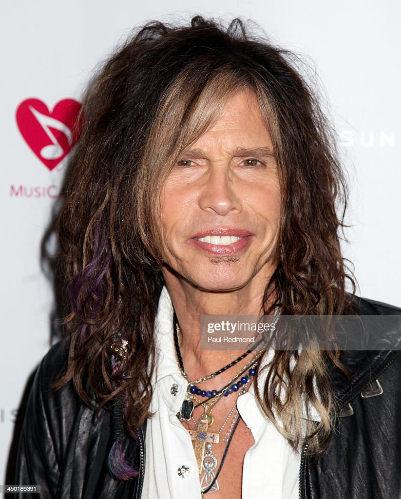 Singer <a gi-track='captionPersonalityLinkClicked' href=/galleries/search?phrase=Steven+Tyler+-+Musician&family=editorial&specificpeople=202080 ng-click='$event.stopPropagation()'>Steven Tyler</a> attends Sunset Marquis Hotel 50th Anniversary Birthday Bash at Sunset Marquis Hotel & Villas on November 16, 2013 in West Hollywood, California.