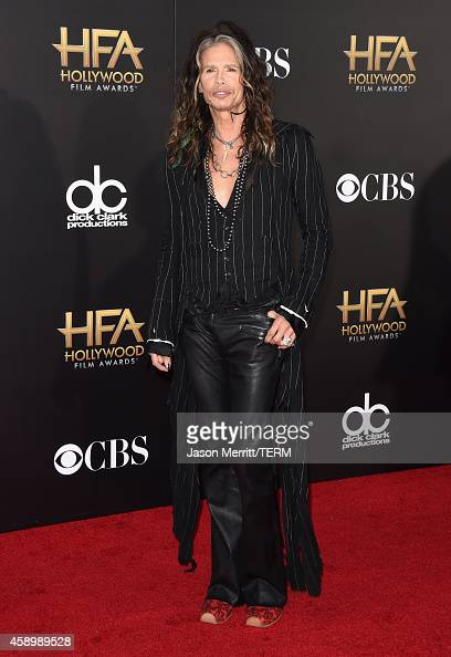Singer Steven Tyler attends the 18th Annual Hollywood Film Awards at The Palladium on November 14 2014 in Hollywood California
