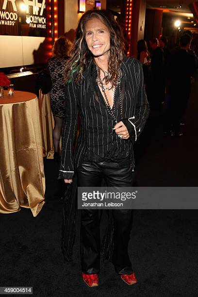 Singer Steven Tyler attends The 18th Annual Hollywood Film Awards at The Palladium on November 14 2014 in Hollywood California CASAMIGOS Tequila is...