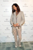 Singer Steven Tyler attends The Art of Elysium's 7th Annual HEAVEN Gala presented by MercedesBenz at Skirball Cultural Center on January 11 2014 in...