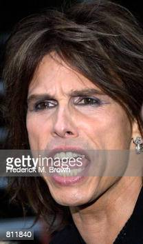 Singer Steven Tyler attends the...