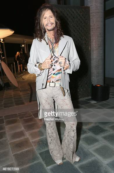 Singer Steven Tyler of Aerosmith attends PerrierJouet Celebration of The Art of Elysium's 7th Annual HEAVEN Gala presented By MercedesBenz at...