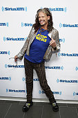 Singer Steven Tyler visits the SiriusXM Studios on January 25 2016 in New York City