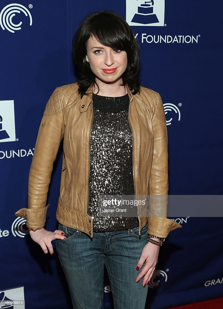 Singer Stevie Ann attends The 55th Annual GRAMMY Awards - Music Preservation Project 'Play It Forward' Celebration highlighting The GRAMMY Foundations ongoing work to safegaurd music's history at the Saban Theatre on February 7, 2013 in Los Angeles, California.