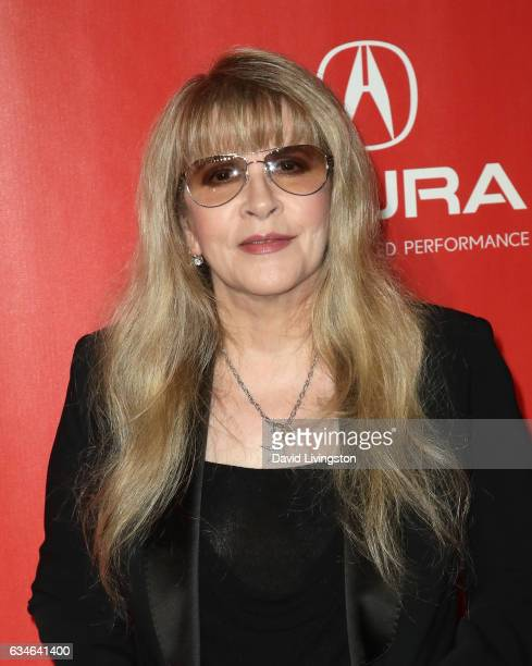 Singer Stevie Nicks attends the 2017 MusiCares Person of the Year honoring Tom Petty on February 10 2017 in Los Angeles California