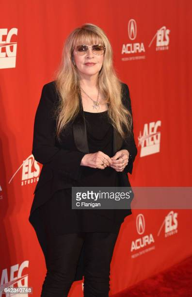 Singer Stevie Nicks of Fleetwood Mac attends MusiCares Person of the Year honoring Tom Petty at the Los Angeles Convention Center on February 10 2017...