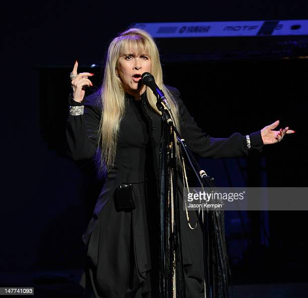 Singer Stevie Nicks performs at The Beacon Theatre on July 2 2012 in New York City