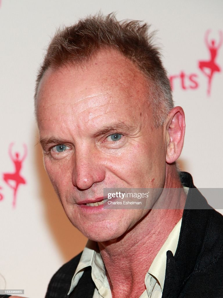 Singer <a gi-track='captionPersonalityLinkClicked' href=/galleries/search?phrase=Sting+-+Singer&family=editorial&specificpeople=220192 ng-click='$event.stopPropagation()'>Sting</a> attends the 6th annual Exploring The Arts Gala at Cipriani 42nd Street on October 4, 2012 in New York City.