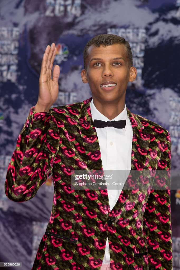 Singer Stromae arrives at the World Music Awards at Sporting Monte-Carlo on May 27, 2014 in Monte-Carlo, Monaco.