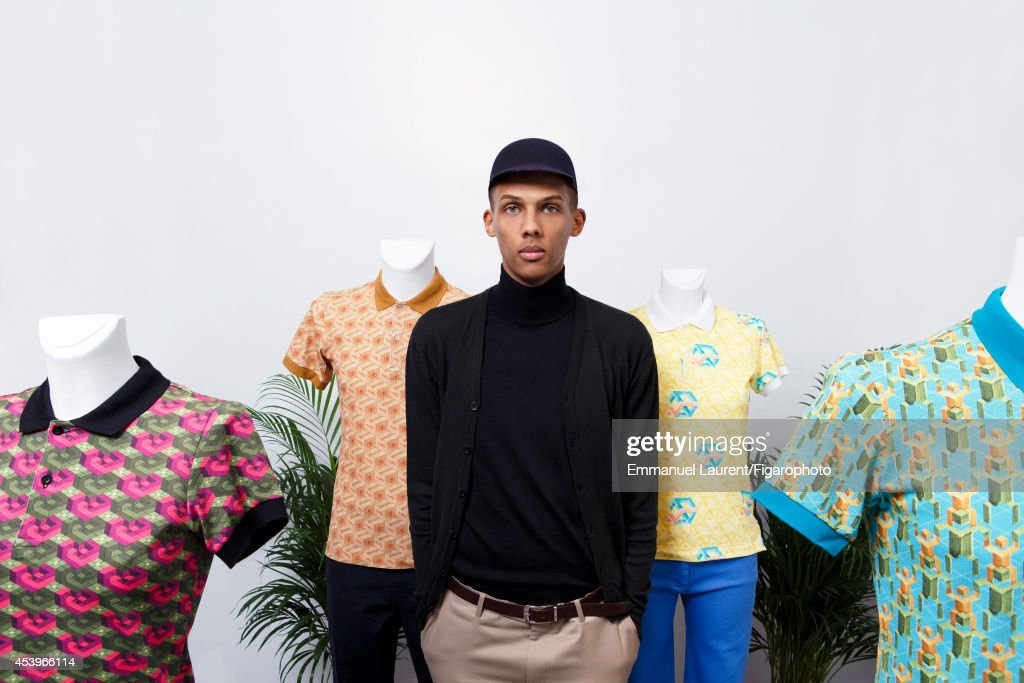 109668-002. Singer <a gi-track='captionPersonalityLinkClicked' href=/galleries/search?phrase=Stromae&family=editorial&specificpeople=6826786 ng-click='$event.stopPropagation()'>Stromae</a> is photographed for Madame Figaro on April 1, 2014 in Paris, France. PUBLISHED IMAGE.