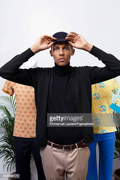 109668004 Singer Stromae is photographed for Madame Figaro on April 1 2014 in Paris France CREDIT MUST READ Emmanuel Laurent/Figarophoto/Contour by...