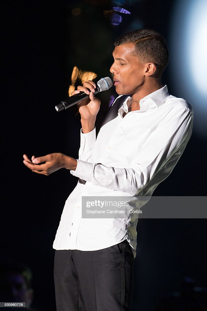 Singer Stromae performs during the ceremony of the World Music Awards 2014 at Sporting Monte-Carlo on May 27, 2014 in Monte-Carlo, Monaco.