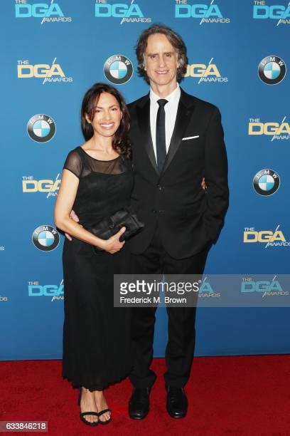 Singer Susanna Hoffs and director Jay Roach attend the 69th Annual Directors Guild of America Awards at The Beverly Hilton Hotel on February 4 2017...