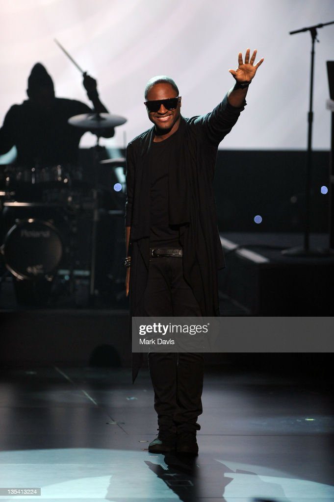 Singer Taio Cruz performs onstage at the American Giving Awards presented by Chase held at the Dorothy Chandler Pavilion on December 9 2011 in Los...