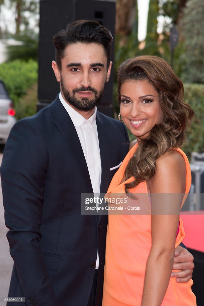 Singer Tal and boyfriend Anthony Such arrive at the World Music Awards at Sporting Monte-Carlo on May 27, 2014 in Monte-Carlo, Monaco.