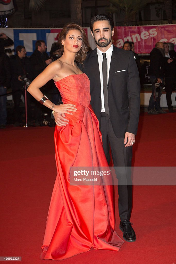 Singer Tal and her boyfriend Anthony attend the 15th NRJ Music Awards at Palais des Festivals on December 14, 2013 in Cannes, France.