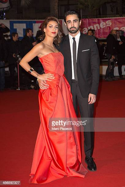 Singer Tal and her boyfriend Anthony attend the 15th NRJ Music Awards at Palais des Festivals on December 14 2013 in Cannes France
