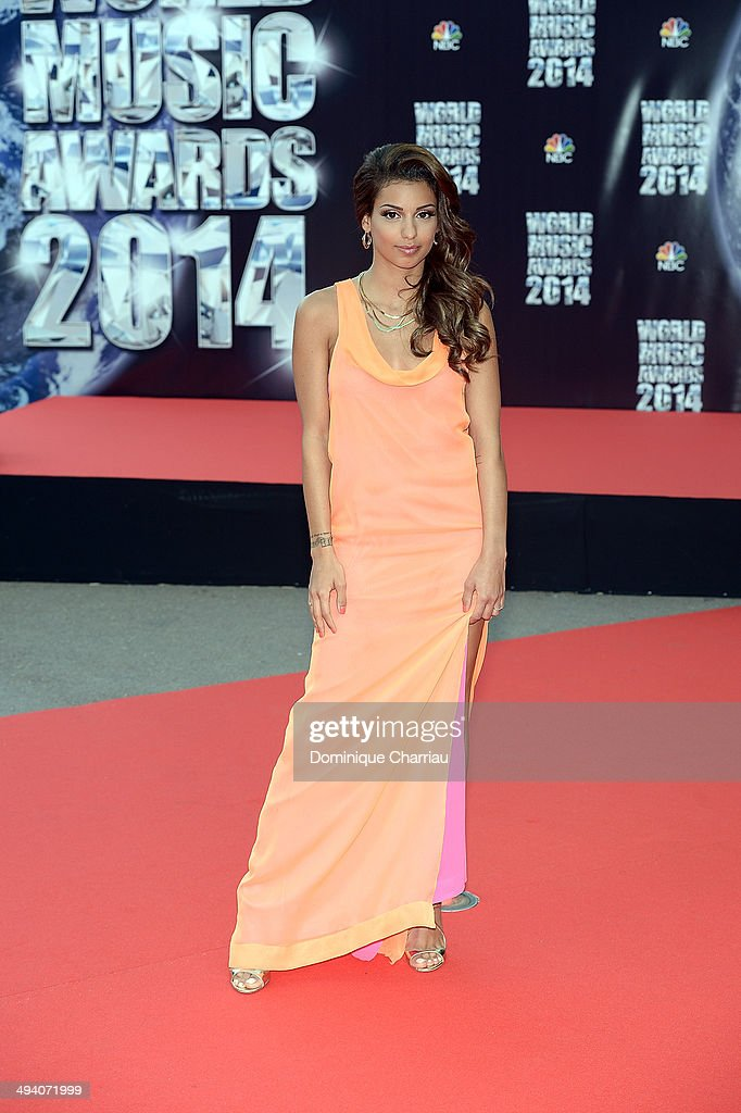 Singer Tal arrives World Music Awards 2014 at Sporting Monte-Carlo on May 27, 2014 in Monte-Carlo, Monaco.