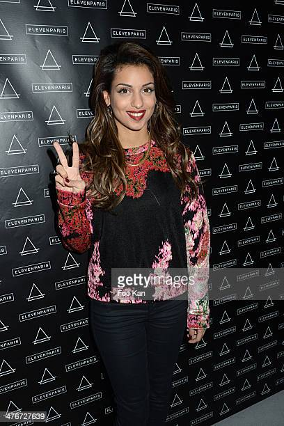Singer Tal attends the 'Eleven Paris' 11th Anniversary Party as part of Paris Fashion Week Womenswear Fall/Winter 20142015 at Theatre Gaiete Lyrique...