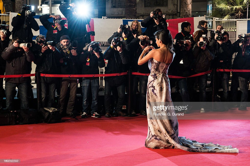 Singer Tal attends the NRJ Music Awards 2013 at Palais des Festivals on January 26, 2013 in Cannes, France.