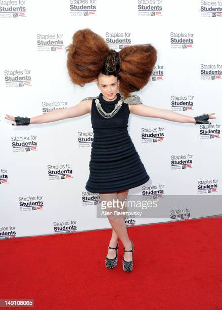 Singer Tallia Storm arrives at 'Party' For A Cause For Kids In Need hosted by Staples DoSomethingorg teen actress Bella Thorne and Young Hollywood at...