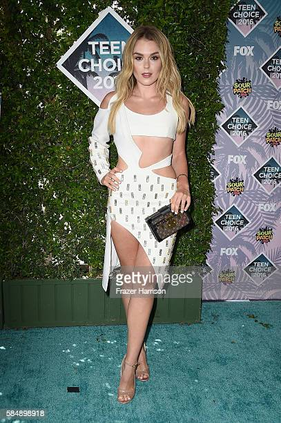 Singer Tallia Storm attends the Teen Choice Awards 2016 at The Forum on July 31 2016 in Inglewood California
