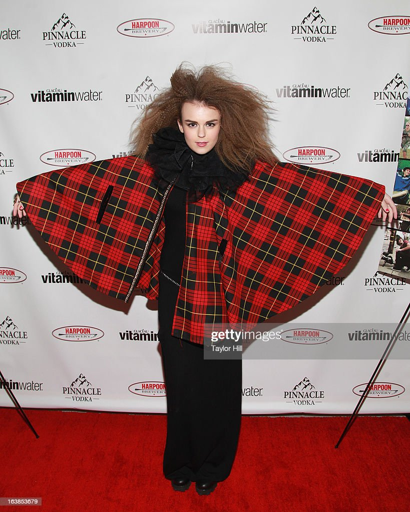 Singer Tallia Storm attends the 'World Of Jenks' Season 2 Premiere And 'Andrew Jenks: My Life As A Filmmaker' Book Launch Party at Solo on March 16, 2013 in New York City.