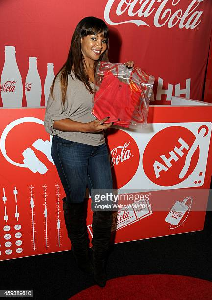 Singer Tamala Jones attends the 2014 American Music Awards UPS Gifting Suite at Nokia Theatre LA Live on November 21 2014 in Los Angeles California
