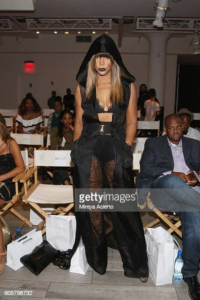 Singer Tamar Braxton attends FrontRow fashion show during Style360 NYFW September 2016 at Metropolitan West on September 14 2016 in New York City