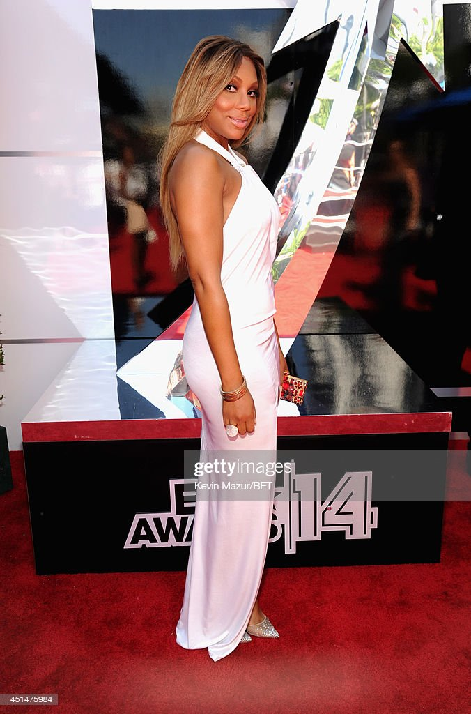 Singer <a gi-track='captionPersonalityLinkClicked' href=/galleries/search?phrase=Tamar+Braxton&family=editorial&specificpeople=2079619 ng-click='$event.stopPropagation()'>Tamar Braxton</a> attends the BET AWARDS '14 at Nokia Theatre L.A. LIVE on June 29, 2014 in Los Angeles, California.