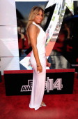 Singer Tamar Braxton attends the BET AWARDS '14 at Nokia Theatre LA LIVE on June 29 2014 in Los Angeles California