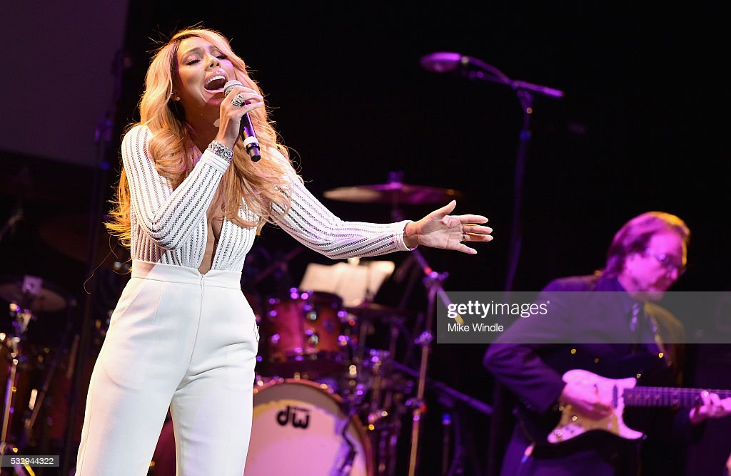 Singer Tamar Braxton performs onstage at the 12th Annual MusiCares MAP Fund Benefit Concert Honoring Smokey Robinson at The Novo by Microsoft on May 19, 2016 in Los Angeles, California.