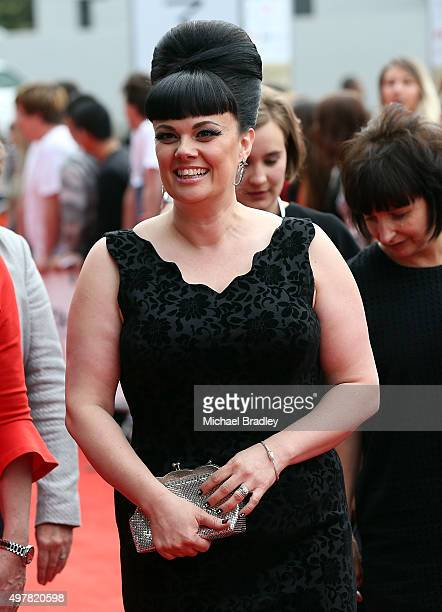 Singer Tami Neilson arrives at the Vodafone New Zealand Music Awards at Vector Arena on November 19 2015 in Auckland New Zealand