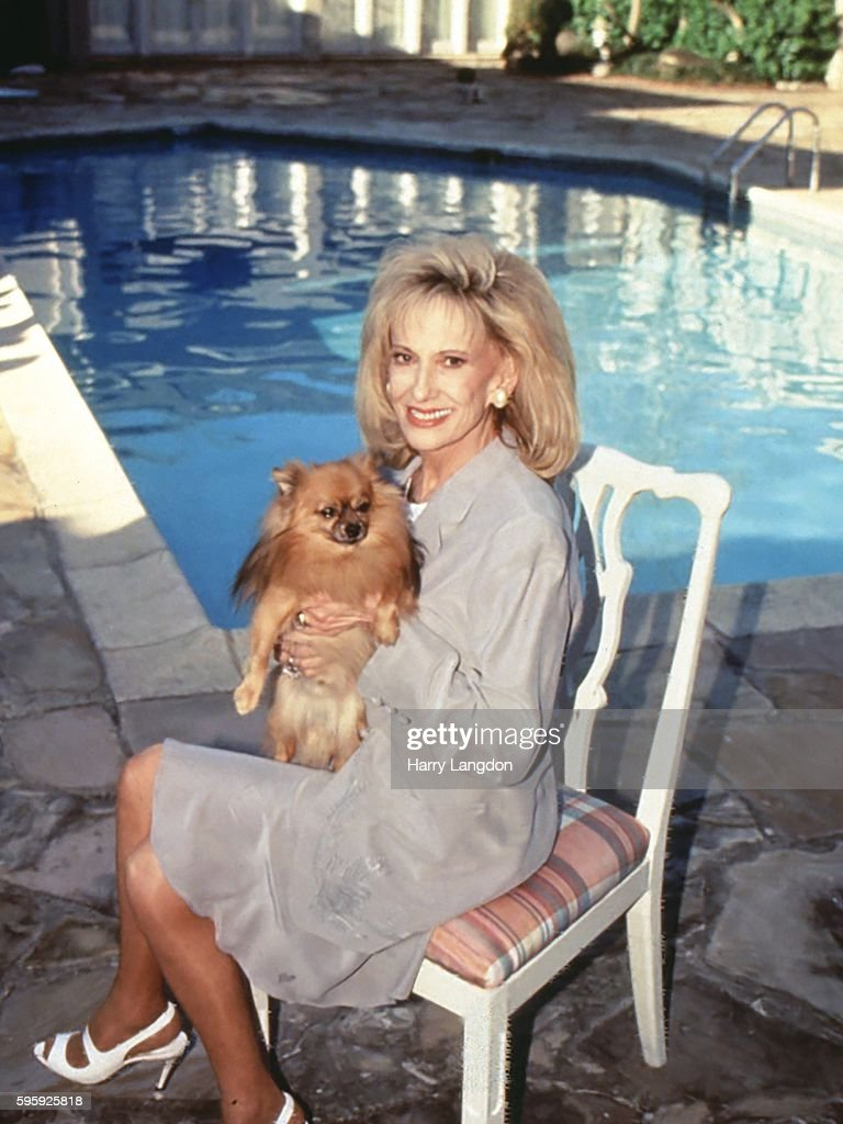 Singer Tammy Wynette poses for a portrait at home in 1995 in Franklin Tennessee