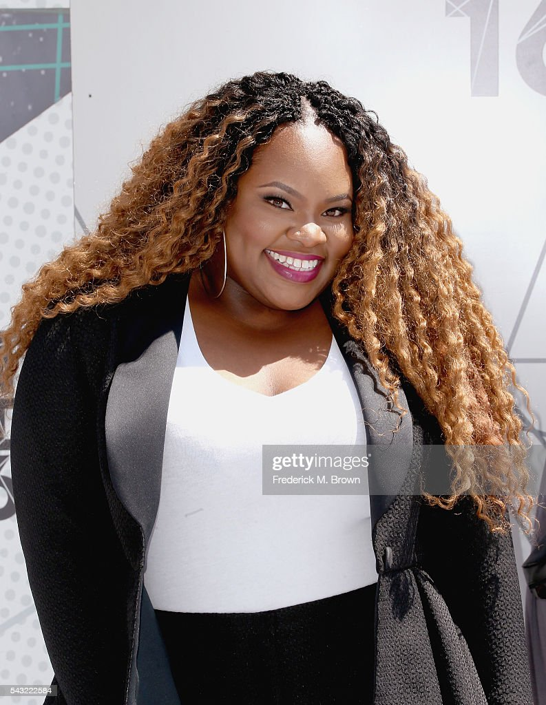 Singer <a gi-track='captionPersonalityLinkClicked' href=/galleries/search?phrase=Tasha+Cobbs&family=editorial&specificpeople=11486733 ng-click='$event.stopPropagation()'>Tasha Cobbs</a> attends the 2016 BET Awards at the Microsoft Theater on June 26, 2016 in Los Angeles, California.
