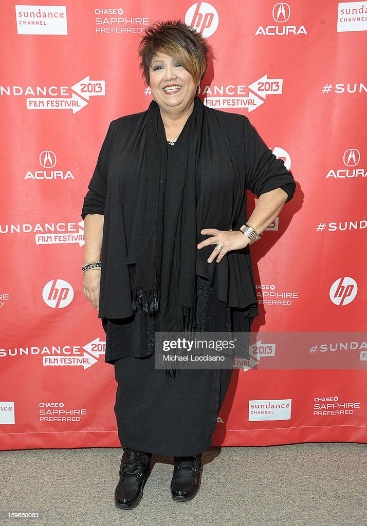 Singer Tata Vega attends the 'Twenty Feet From Stardom' premiere during the 2013 Sundance Film Festival at Eccles Center Theatre on January 17, 2013 in Park City, Utah.