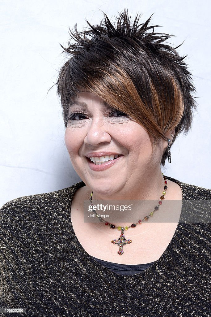 Singer Tata Vega poses for a portrait during the 2013 Sundance Film Festival at the WireImage Portrait Studio at Village At The Lift on January 21, 2013 in Park City, Utah.