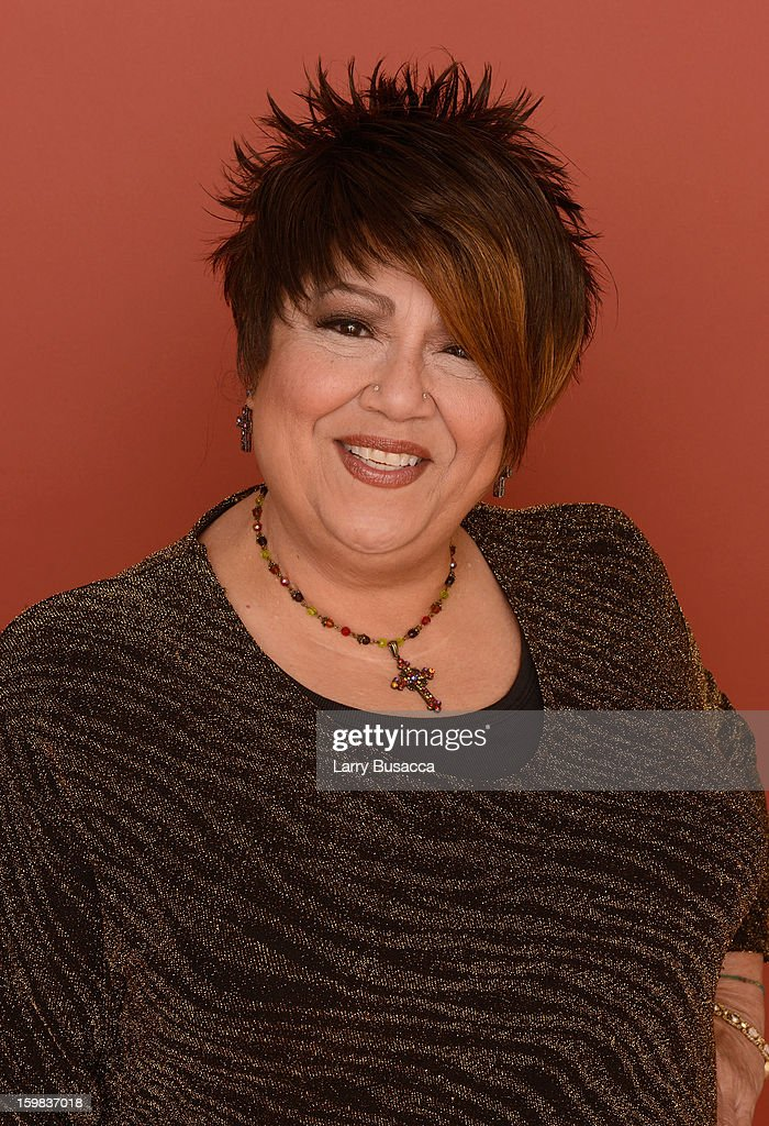 Singer Tata Vega poses for a portrait during the 2013 Sundance Film Festival at the Getty Images Portrait Studio at Village at the Lift on January 21, 2013 in Park City, Utah.