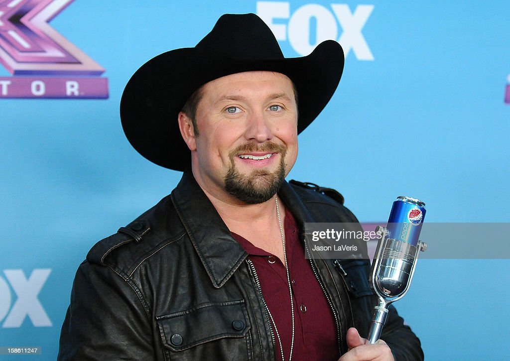 Singer <a gi-track='captionPersonalityLinkClicked' href=/galleries/search?phrase=Tate+Stevens&family=editorial&specificpeople=9748309 ng-click='$event.stopPropagation()'>Tate Stevens</a> attends the season finale of Fox's 'The X Factor' at CBS Television City on December 20, 2012 in Los Angeles, California.