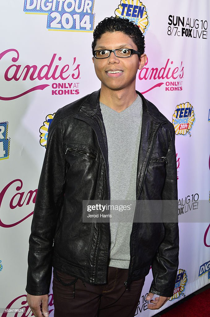 Singer <a gi-track='captionPersonalityLinkClicked' href=/galleries/search?phrase=Tay+Zonday&family=editorial&specificpeople=6894896 ng-click='$event.stopPropagation()'>Tay Zonday</a> attends Candie's Presents The Official Pre-Party For Teen Choice 2014, A DigiTour Production at The Gibson Showroom on August 9, 2014 in Los Angeles, California.