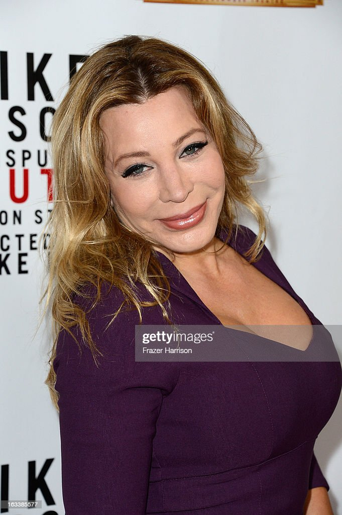 Singer Taylor Dayne arrives at the opening Night Of 'Mike Tyson: Undisputed Truth' At The Pantages Theatre at the Pantages Theatre on March 8, 2013 in Hollywood, California.