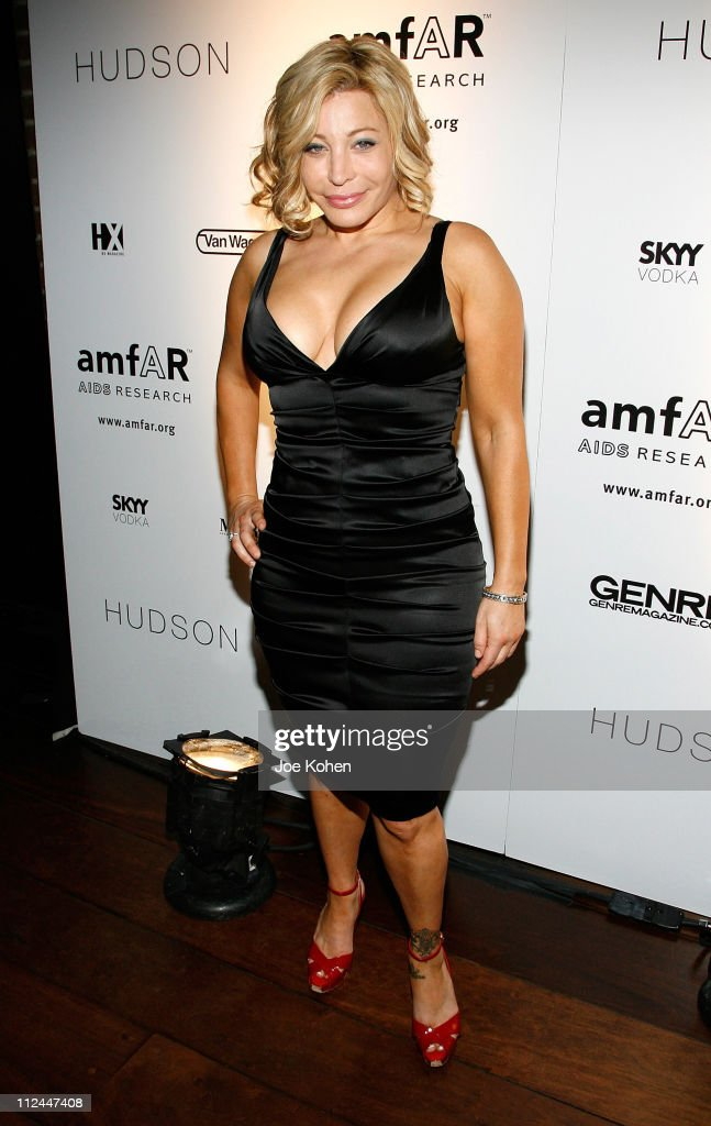 Singer Taylor Dayne attends the 9th Annual amfAR Honoring With Pride Celebration at the Hudson on June 9 2008 in New York City
