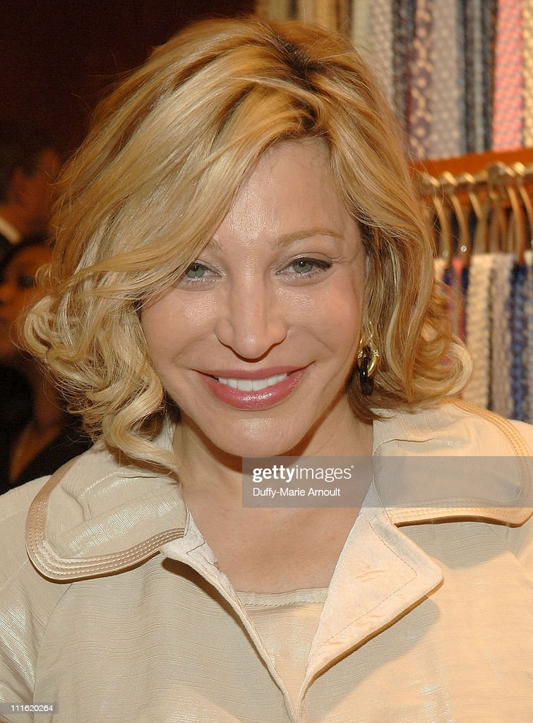 Singer Taylor Dayne attends the debut of the Bugatti Veyron FBG with Interior by Hermes at the Hermes Boutique on April 2 2008 in New York City