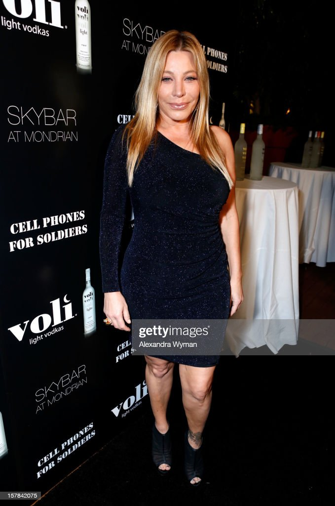 Singer Taylor Dayne attends Voli Light Vodka's Holiday Party hosted by Fergie Benefiting Cellphones for Soldiers at SkyBar at the Mondrian Los Angeles on December 6, 2012 in West Hollywood, California.